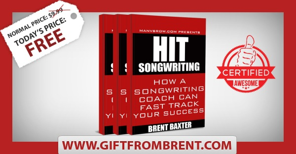 Gift From Brent Songwriting Book
